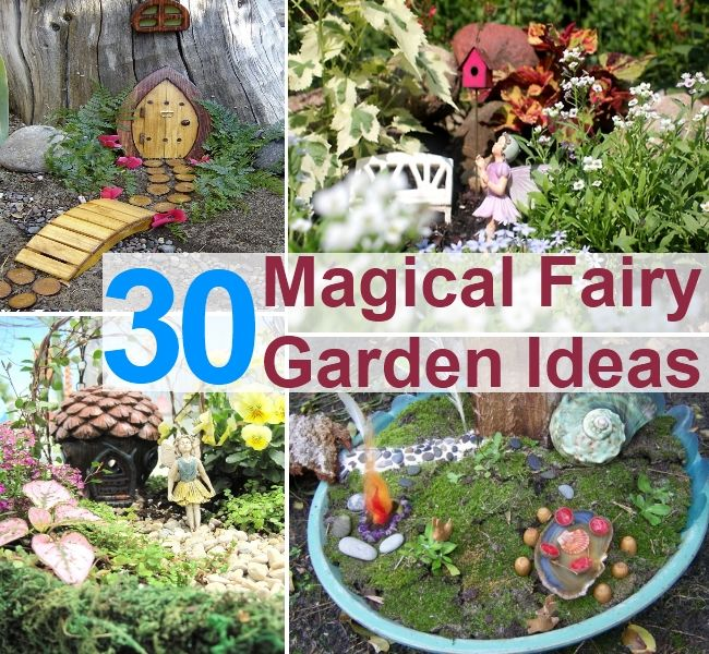 30 magical fairy garden ideas link isnt spam http