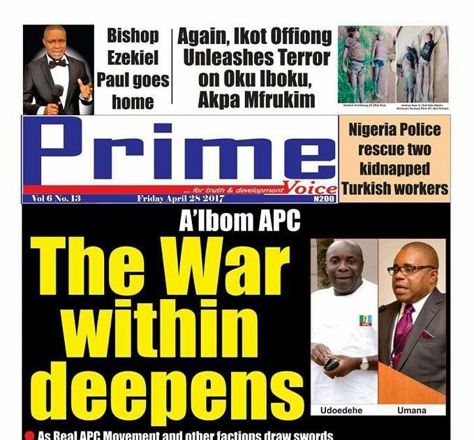 The battle for the soul of the All Progressive Congress APC staged by two opposing factions in Akwa Ibom State has continued to deepen by the day as both factions have failed to reach a compromise regarding who controls the leadership structure of the party in the state. The APC which is spilt into two factions in the state has been embroiled in a leadership struggle name-calling and dirty fight ever since power changed hands at the centre. While the founding father of the APC Senator John…