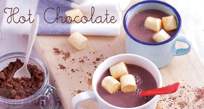 Hot Chocolate :: Klik link di atas untuk mengetahui resep hot chocolate