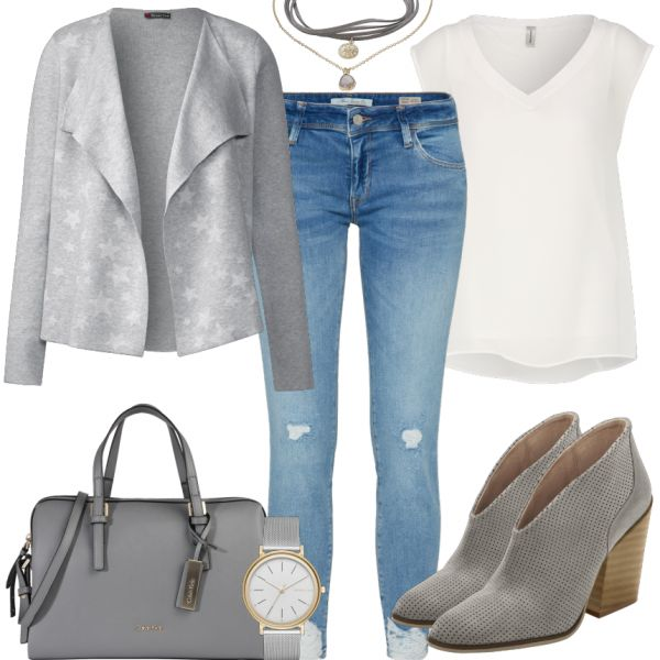 Freizeit Outfits: Grey Fashion bei FrauenOutfits.de
