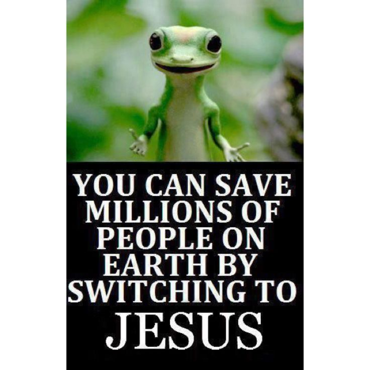 Geico Quote: You Can Save Millions Of People By Switching To JESUS