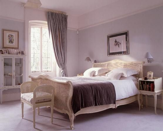 dusty lavender bedrooms