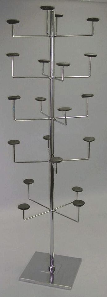5 tier hat display - make out of pvc pipe?