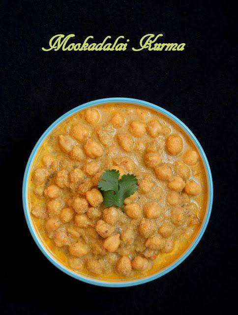 Mookadalai Kurma / Channa Kurma !