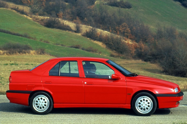 Alfa Romeo 155 - another one of my favourite cars i had.......