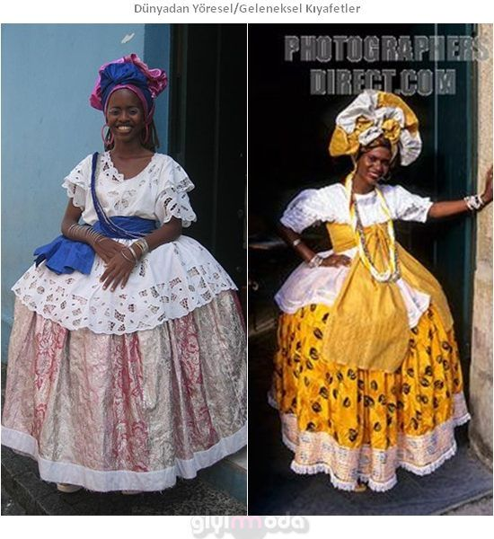 Brezilya Geleneksel Kıyafetleri