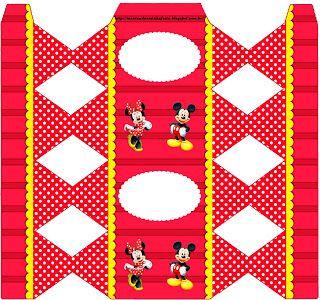 <center>Mickey e Minnie</center> | Montando minha festa