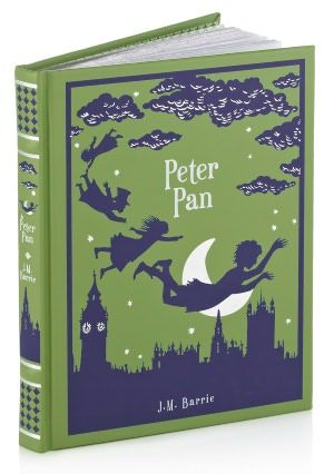 Peter Pan (Barnes & Noble Leatherbound Classics) #books #peter_pan