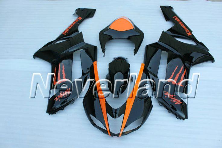 Kawasaki Zxr Orange