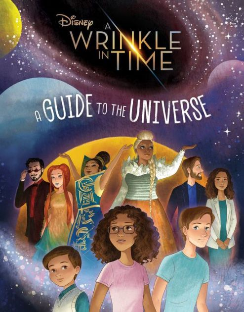 Here's your chance to experience the fantastical world of A Wrinkle in Time, the upcoming film from Walt Disney Studios. This colorful book is filled with...