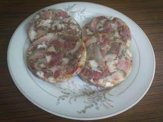 Moje domowe kucharzenie: Salceson z szynkowara