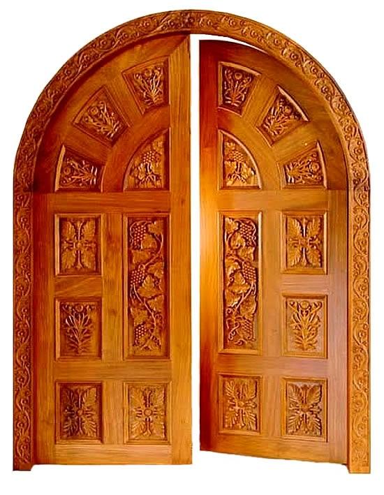 ornamental carving wow Door design, Wooden