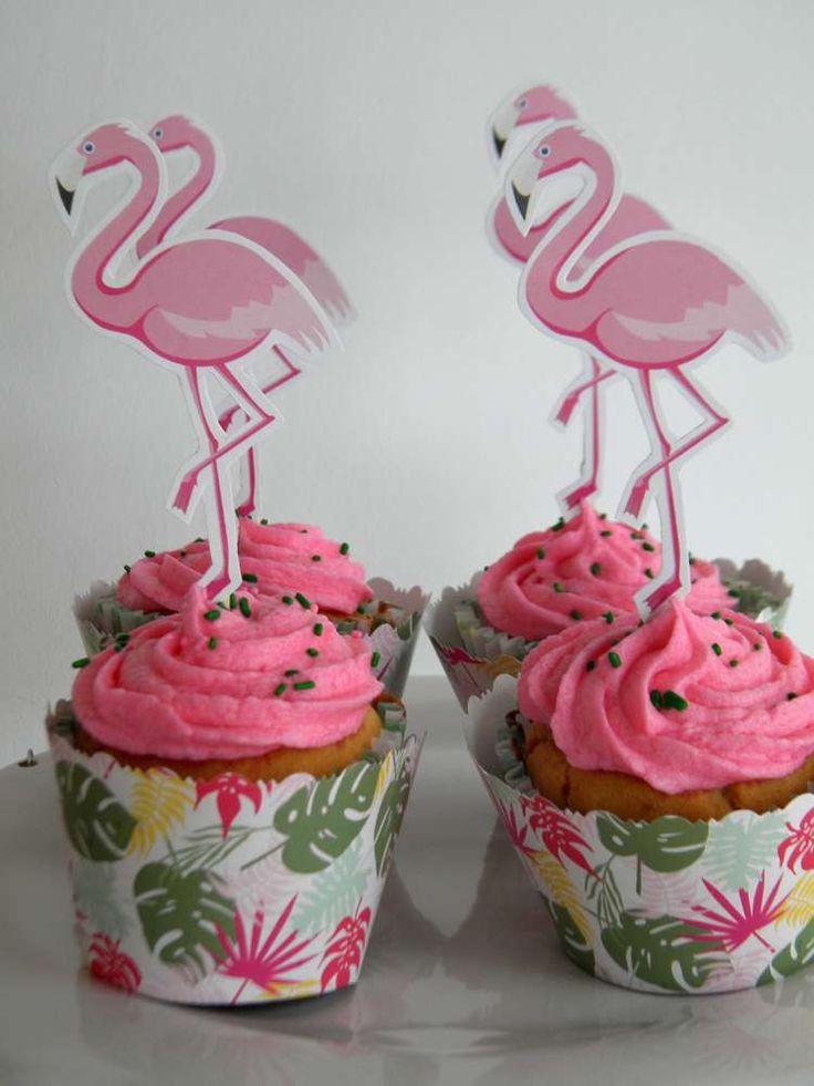 1000 Ideas About Flamingo Cupcakes On Pinterest