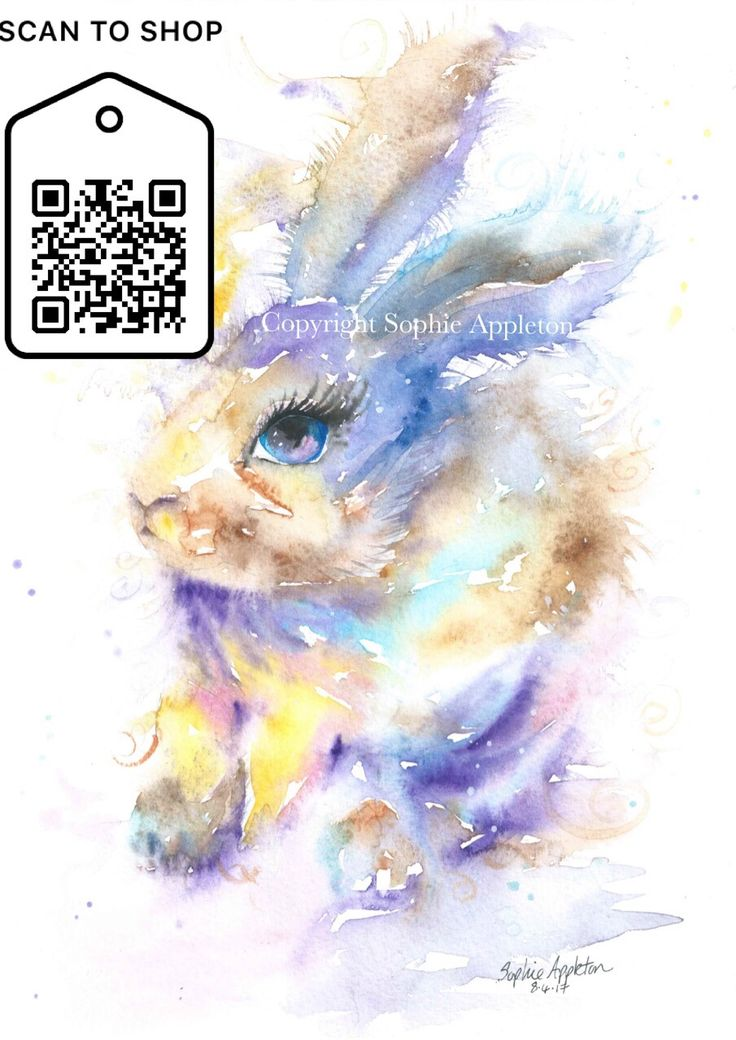 Welcome to my range of art prints available to buy now, by Sophie Appleton. This page gives examples of them in a frame plus the purchase links. Before scanning the QR codes or 'Buy Now' please rea…
