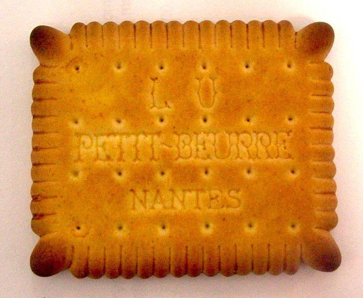 Petit beurre biscuit produced by LU