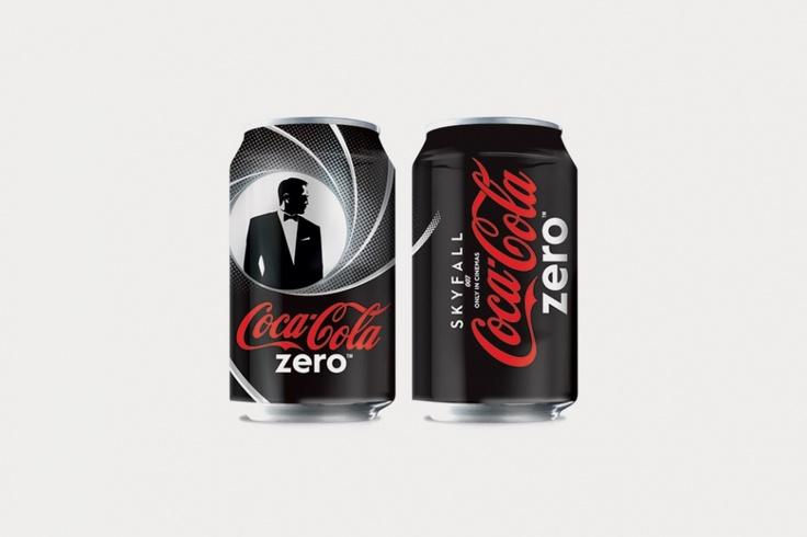 Coca-Cola Unveils Limited Edition 'James Bond' Series