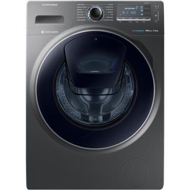 Samsung WW90K7615OX AddWash 9kg 1600rpm Ecobubble Freestanding Washing Machine Graphite | Appliances Direct