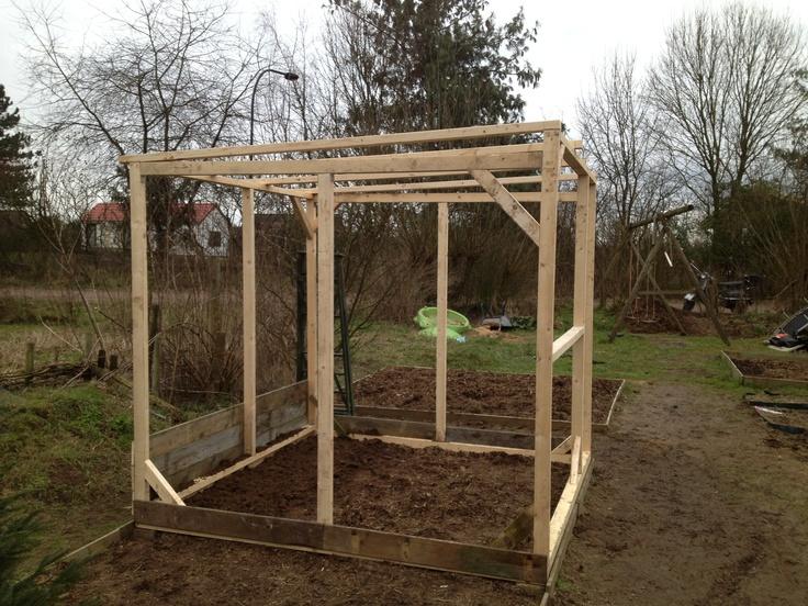 Diy greenhouse, work in progress.