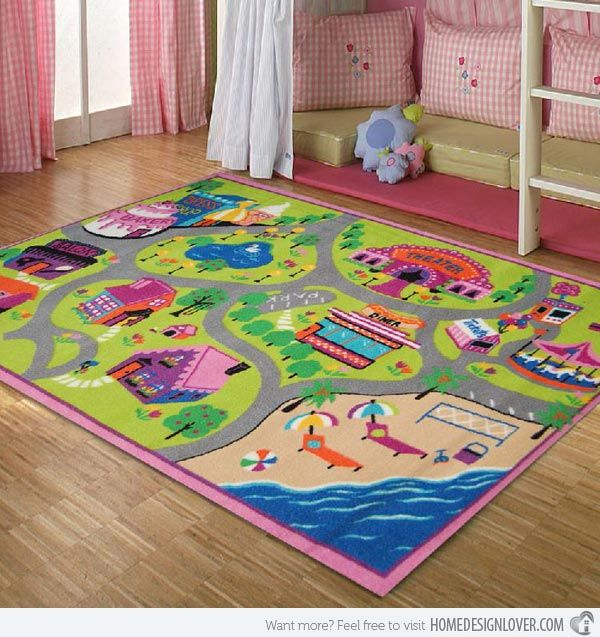 15 Kid S Area Rugs For More Enjoyable Playtime