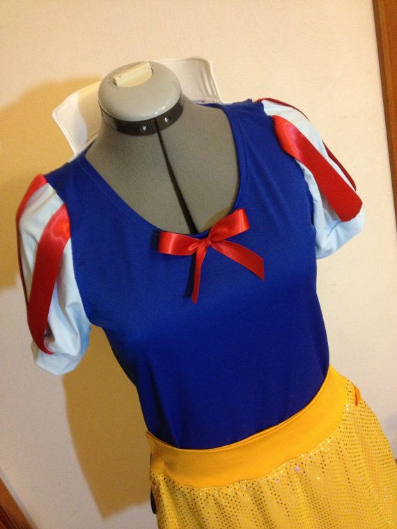 Snow White inspired Running Costume Shirt by ThisPrincessRuns, $85.00