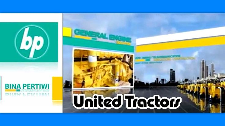 Check out my commercial video from the United Tractors Marketing Company