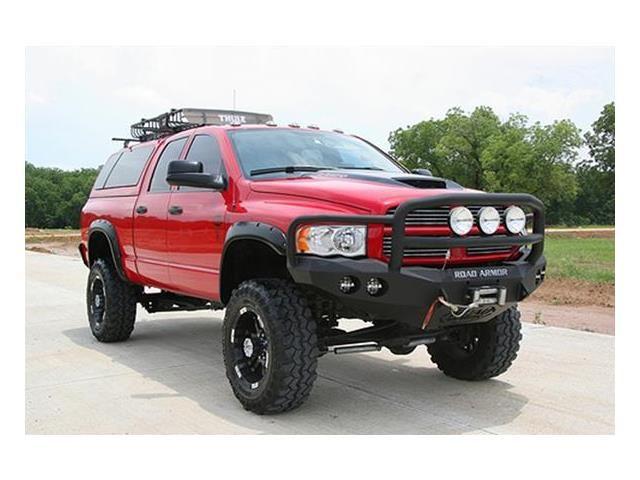Bumper Guard For Suv >> Road Armor Dodge Ram   Road Armor® 44035B - Front Bumper ...