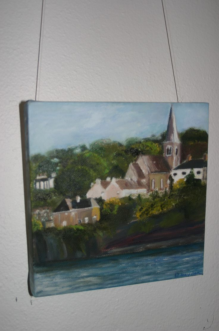 39. Dunmore East, Oil on canvas, €50 by Deirdre, Hayden
