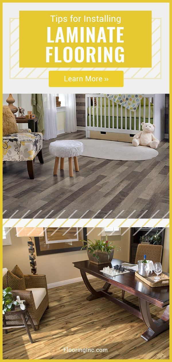 Learn how to install laminate flooring yourself with these