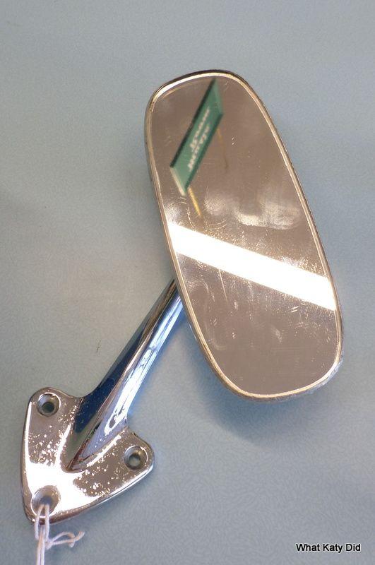 Vintage Mini wing mirror - http://whatkatydid.biz/product/automobilia/vintage-mini-wing-mirror/