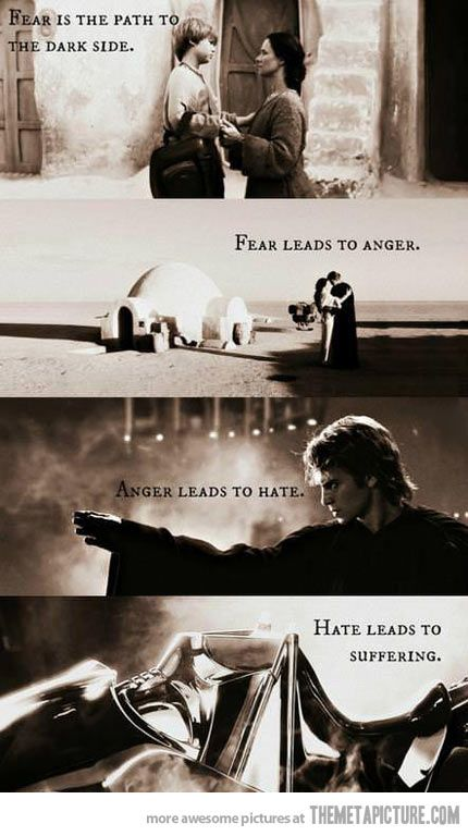 And that's the complete story of Anakin Skywalker/ Darth Vader