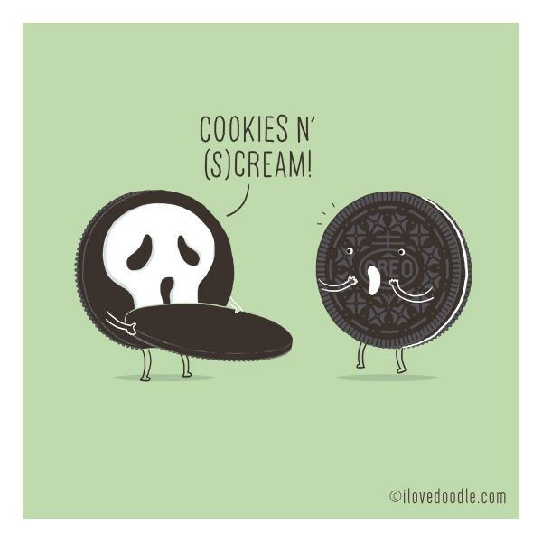 17. Oreo - cookies n' (s)cream A little conversation a day by ilovedoodle