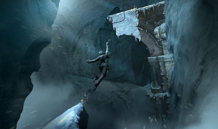 Bu Tomb Raider sanat konseptinin yüce yükselişidir!
