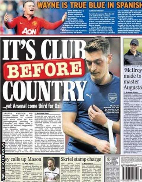 Tuesday's gossip column - BBC Sport