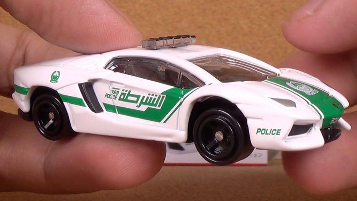 Tomica 087 - Lamborghini Aventador LP 700-4 Dubai Police Car (Takara Tom...