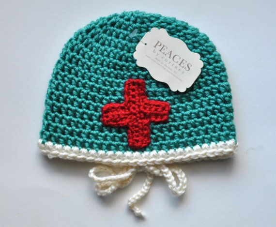 Baby Doctor Baby Hat  baby hats newborn hat by Peaces by Cortney