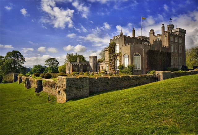 Powderham Castle, about 3o mins away.....