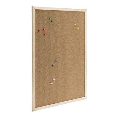 Prikbord met prikkers - 40x60 cm