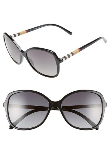 Burberry 58mm Sunglasses. available at #Nordstrom
