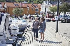 Grimstad guest harbour  Photo: Hanne Feyling, Visit Sørlandet
