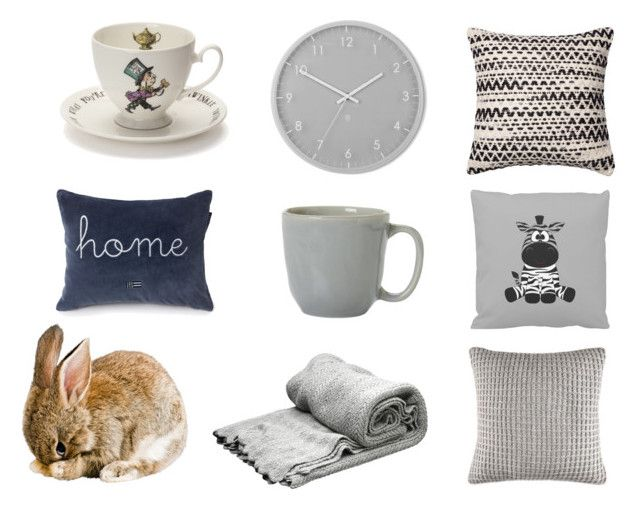 Easter Gray by emily-lithen on Polyvore featuring interior, interiors, interior design, home, home decor, interior decorating, Nautica, Mrs Moore, Juliska and Umbra