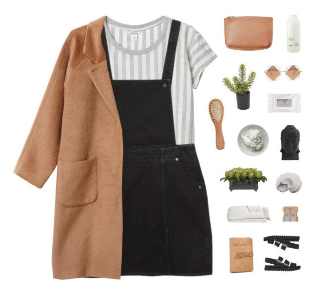 new approach by luminiscencia on Polyvore featuring polyvore, fashion, style, Monki, Alexander Wang, Le Specs, Stila, Davines, The Unbranded Brand, Lux-Art Silks, Crate and Barrel, Nearly Natural, Urban Trends Collection and clothing