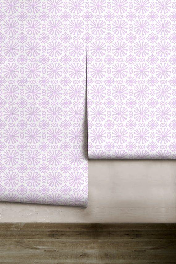 Cusco Mini Lavender Peel N Stick Removable Wallpaper Etsy Removable Wallpaper Wall Covering Canvas Texture