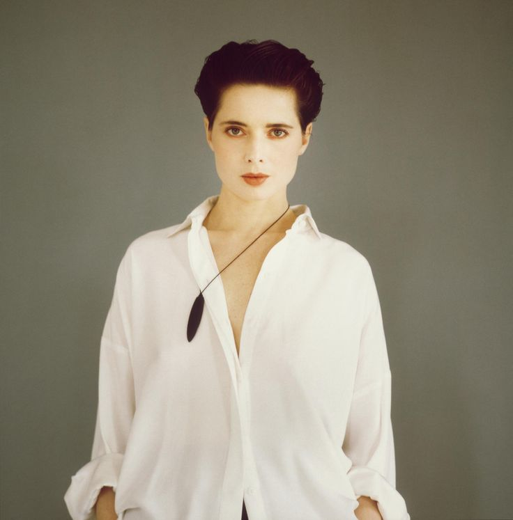 Isabella Rossellini, New York City, 1991, by Michel Comte