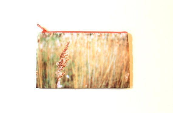 Pencil Case/Makeup Bag Golden Wheat Field by CandyMountainPhotos, €7.00