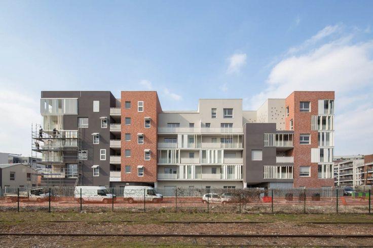 70 Homes in Landy Sud / PetitDidier Prioux Architectes