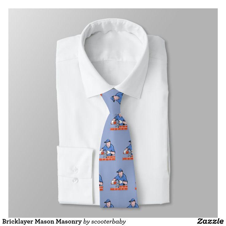 Bricklayer Mason Masonry Tie