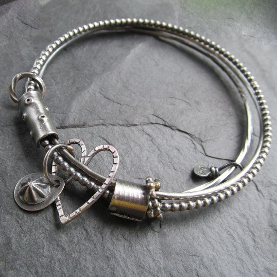 Hey, I found this really awesome Etsy listing at https://www.etsy.com/listing/295128287/silver-bangle-bracelet-charm-bangle