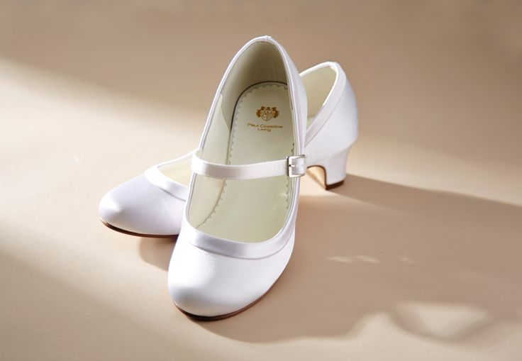 Low-heeled Communion shoes with glossy finish http://www.dunnesstores.com/paul-costelloe-living/kids/fcp-category/home