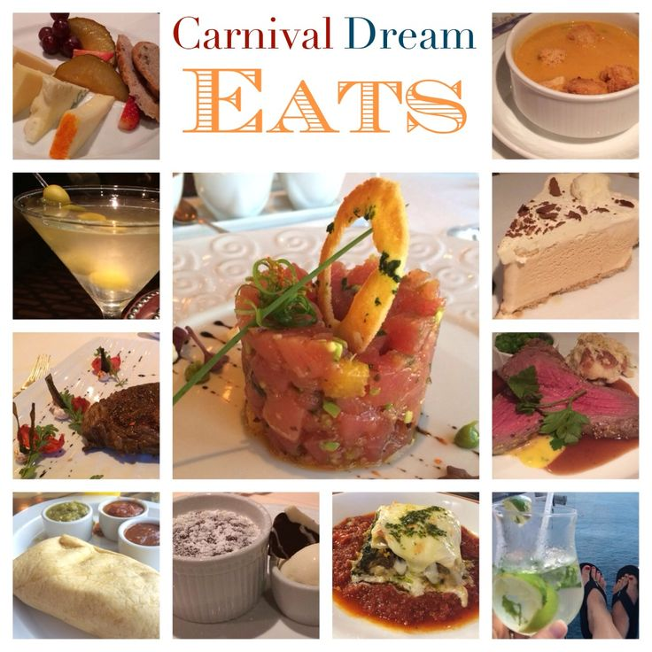 Carnival Dream - Cruise Ship Eats