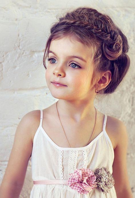 Imagini Pentru Coafuri Copii Par Mediu Inspirație Flower Girl